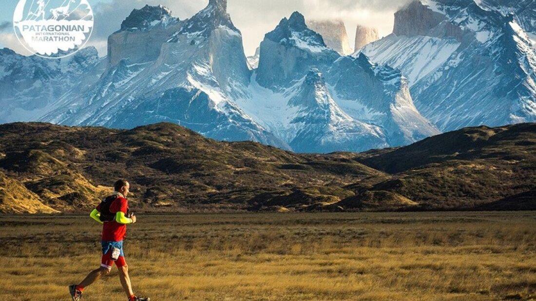 Patagonian International Marathon: Die Strecke führt durch den Torres del Paine National Park, einem Biosphärenreservat der UNESCO.