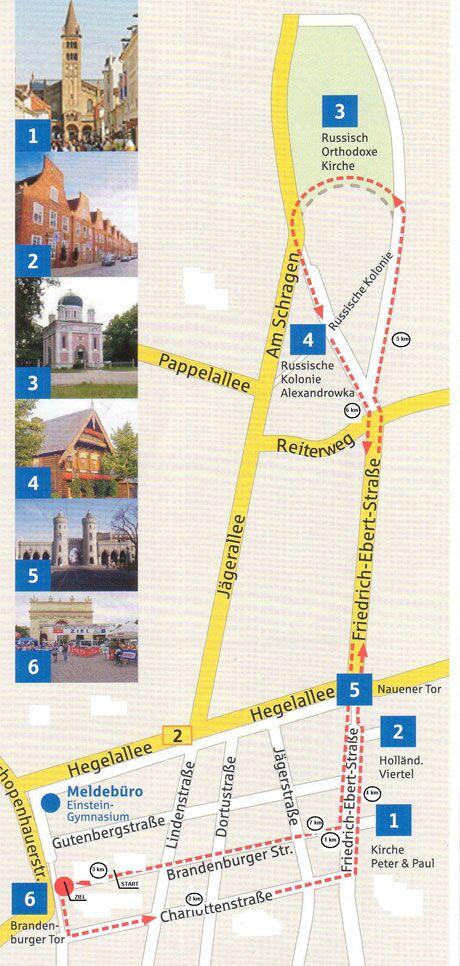 Preußische Meile in Potsdam