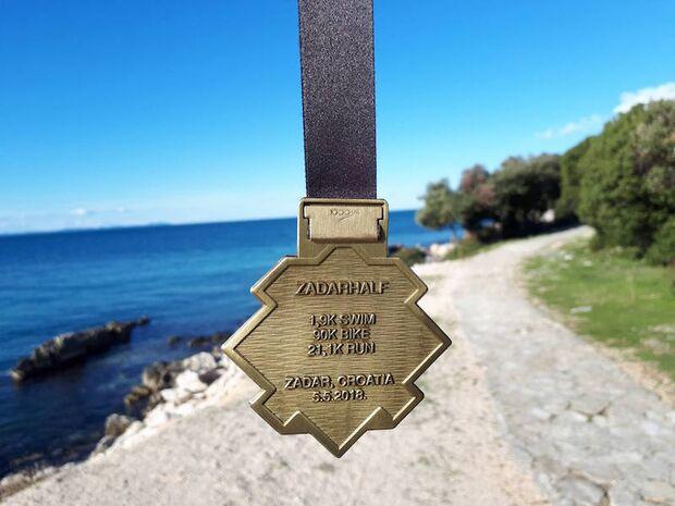 Punta Skala Triathlon Zadar 2018 Medaille