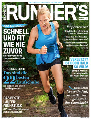 RUNNER'S WORLD 10/2019