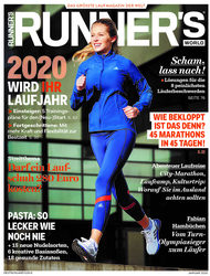 RUNNER'S WORLD Ausgabe 01/2020