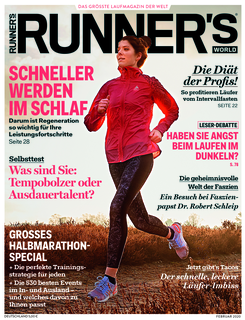 RUNNER'S WORLD Februar-Ausgabe