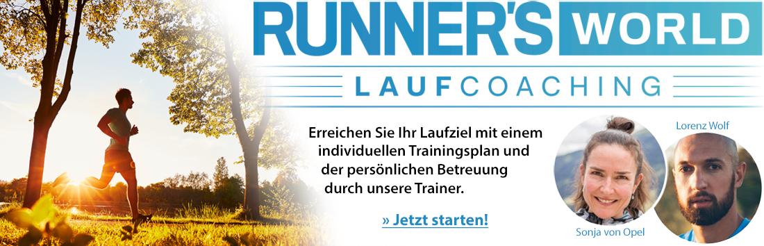RUNNER'S WORLD Laufcoaching Logo