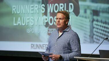 RUNNER'S WORLD Laufsymposium, Moderator Urs Weber