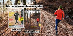 RUNNER'S WORLD November-Ausgabe 2019