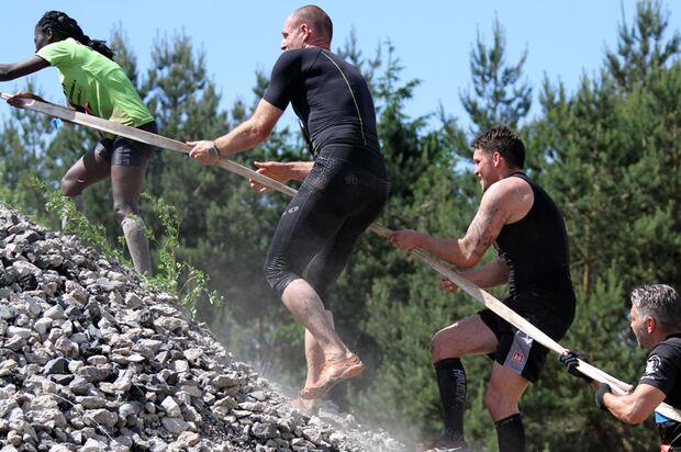 Rats-Runners Walldorf: Viele, zum Teil sehr steile Hänge gilt es zu überwinden