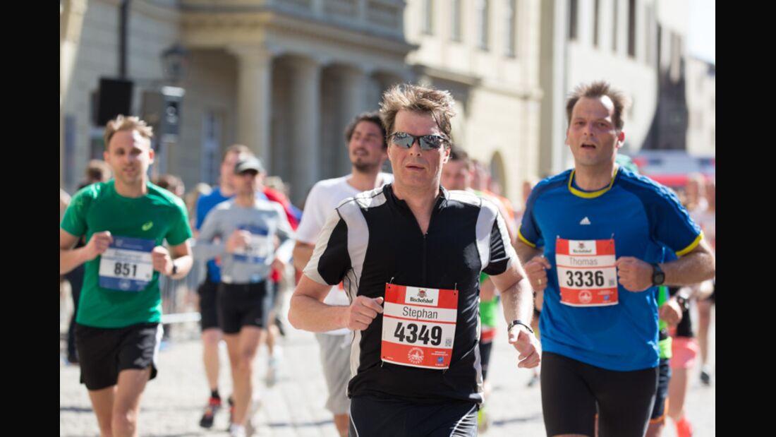 Regensburg Marathon 2016 Strecke