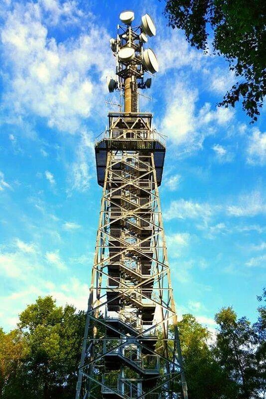 Rekener Tower Run: 134 auf den Aussichtsturm auf dem Melchenberg sind zu absolvieren.