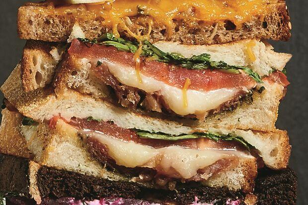 Rezept Tomate-Mozzarella Sandwich Bild