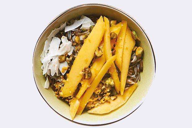 Rezept für asiatischen Reispudding Bild