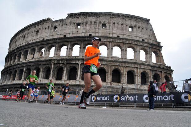 Rom-Marathon 2013