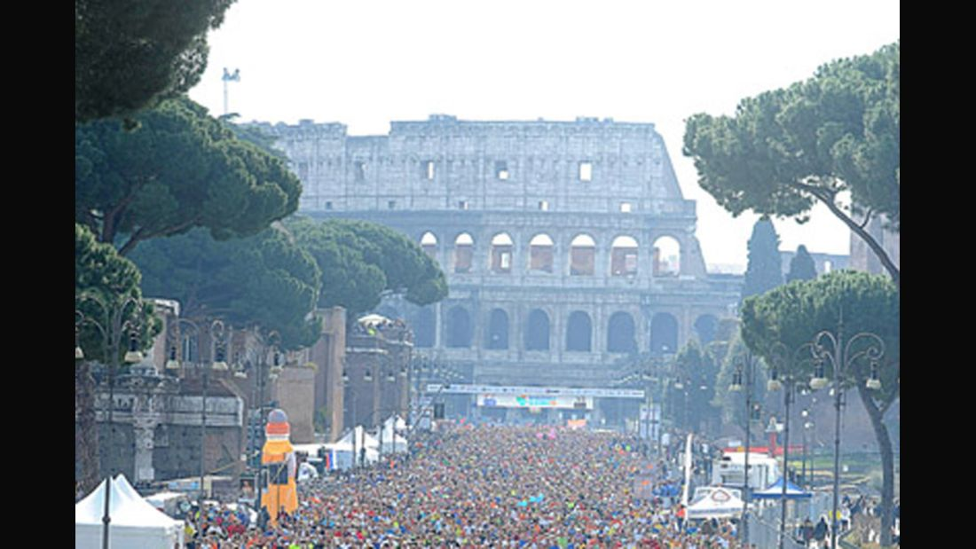 Rom-Marathon 2015