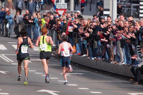 Rotterdam-Marathon Zuschauer 2015
