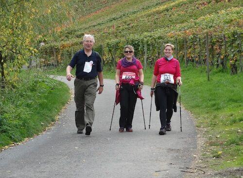 Rotwein-Walking-Ahr: Walker auf der 10 km Strecke
