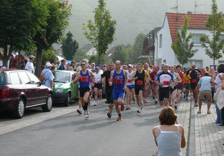 Rotweinwanderweg - Volkslauf Dernau 2