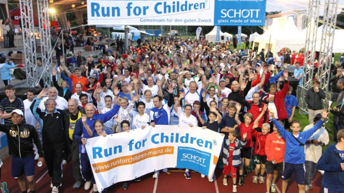 Run for Children®: Gemeinsam für einen guten Zweck