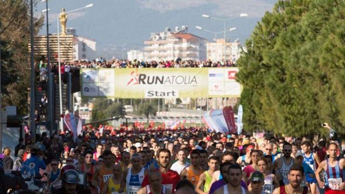 Runatolia Antalya 2015 Start