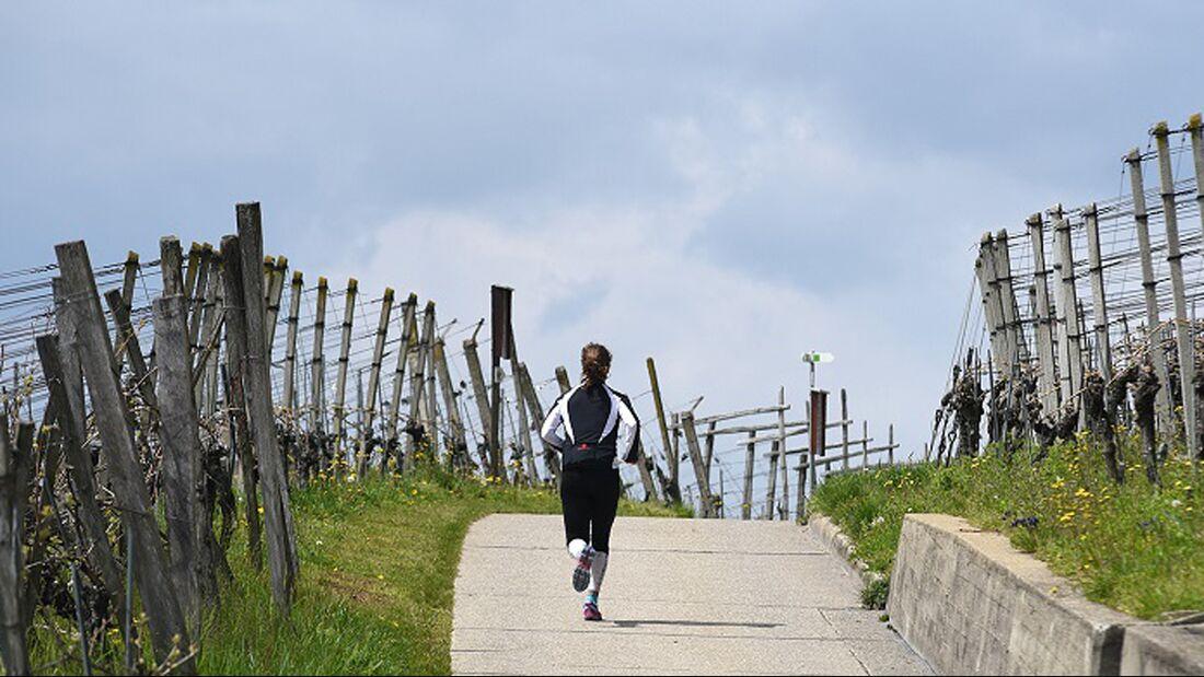 Rund 1.000 Höhenmeter gilt es beim Muttenz-Marathon zu bewältigen.