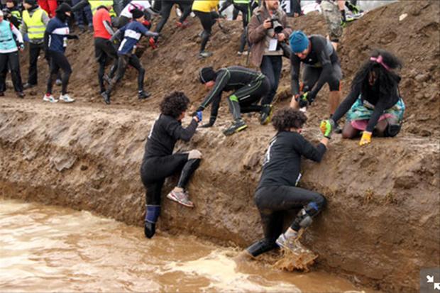 Rund 30 Hindernisse müssen beim Rock Race überwunden werden.