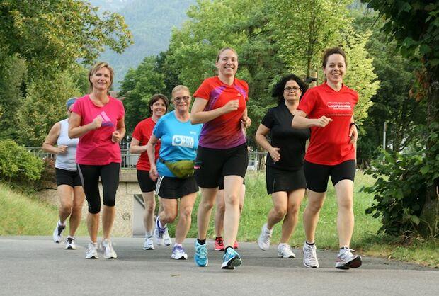 Rupertusthermen-Lauf Gruppe 2012