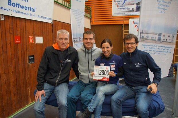 Sabrina Mockenhaupt und Arne Gabius zu Gast beim Bottwartal-Marathon