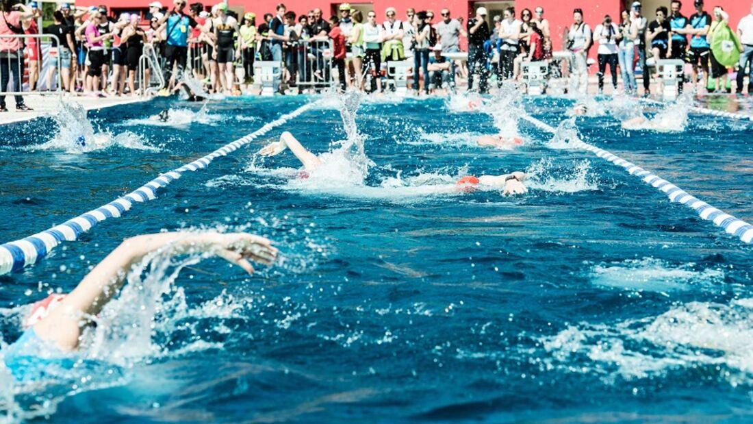 Sämtliche Schwimmbewerbe werden im Kufsteiner Freischwimmbad auf einer 50 Meter Bahn durchgeführt.