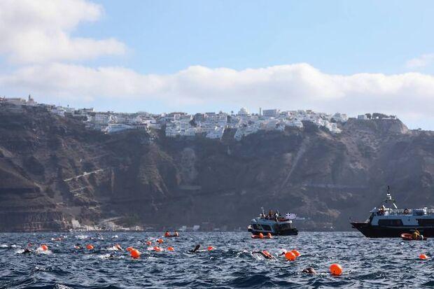 Santorini Experience Schwimmen 2018