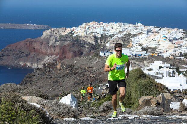 Santorini Experience Trail Run 2018 Ausblicke