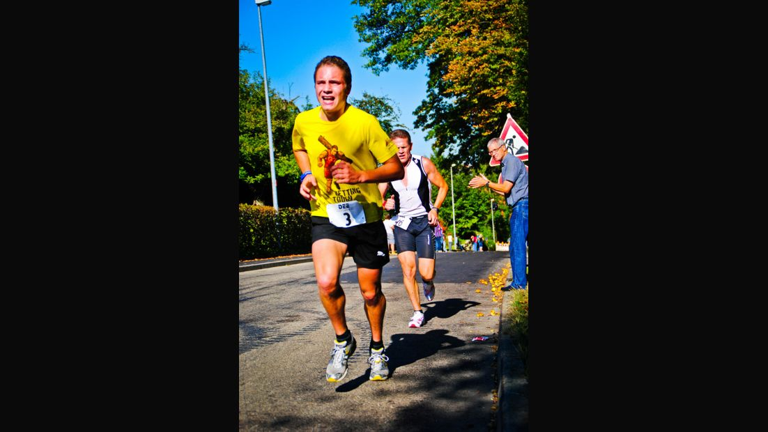 Schnelle Läufer beim Kupferzeller Kärwelauf