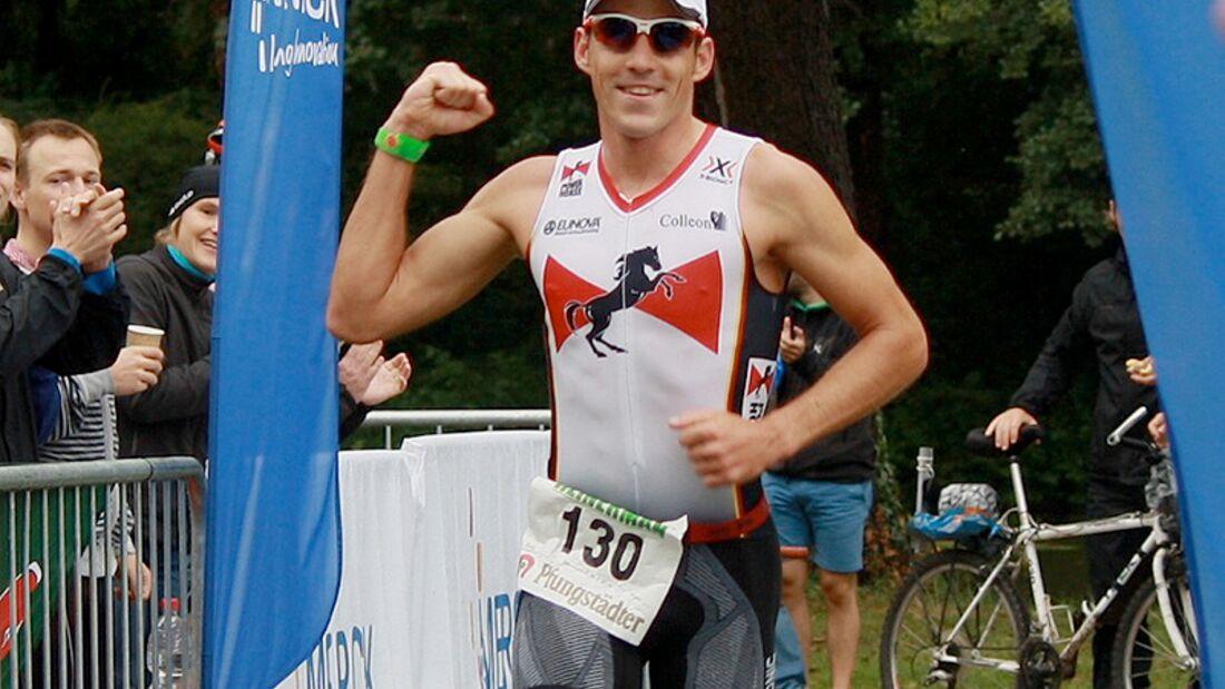Sechster Sieg für Horst Reichel beim HEINERMAN-Triathlon in Darmstadt