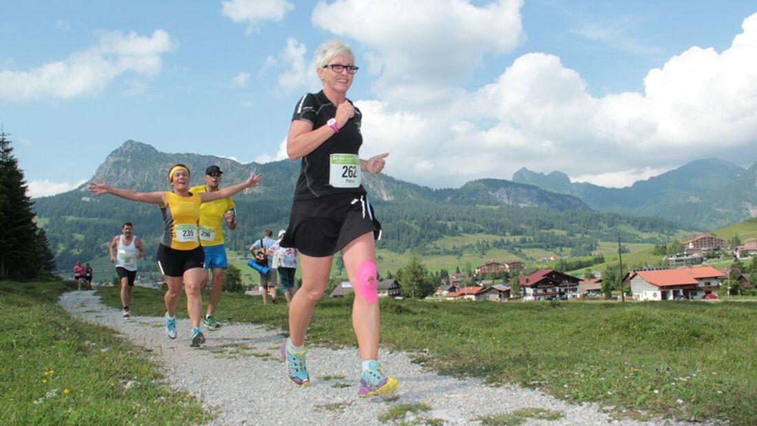 Seen-Lauf im Tannheimer Tal: Durch das Tannheimer Tal