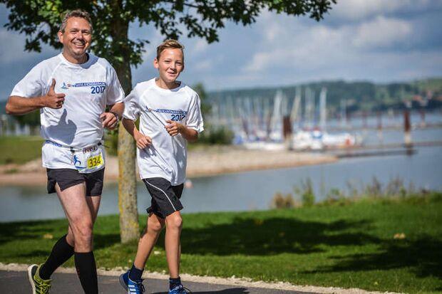 Seenlandmarathon Panoramastrecke 2018