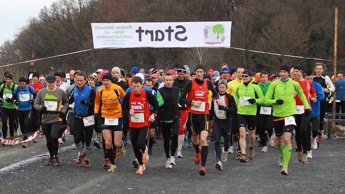 Siebengebirgsmarathon Bad Honnef Start