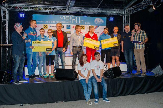 Siegerehrung Vision Run St. Pölten 2014