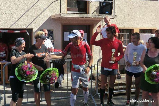 Siegerehrung beim 24-Stunden-Lauf Dettenhausen