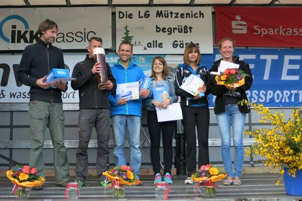 Siegerehrung beim Mützenicher Vennlauf Monschau