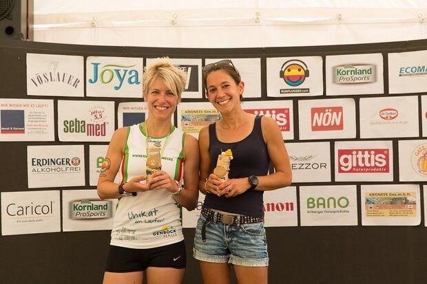 Siegerehrung beim Wienerwaldlauf