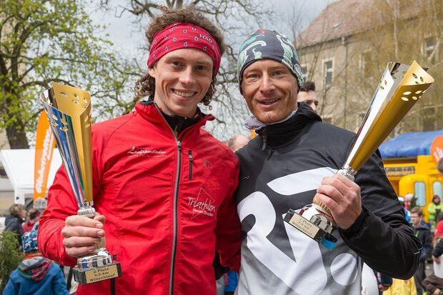 Siegerehrung beim Wilischlauf Dresden