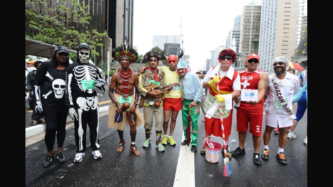 Silvesterlauf-Klassiker in Sao Paulo
