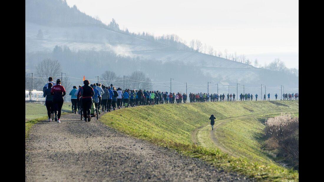 Silvesterlauf Schwaibach 2019