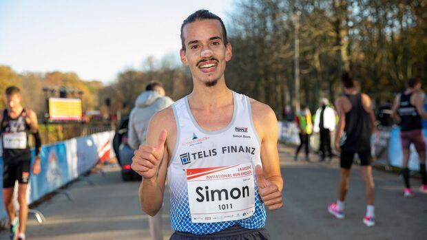 Simon Boch beim 10k-Invitational-Dresden im November 2020.