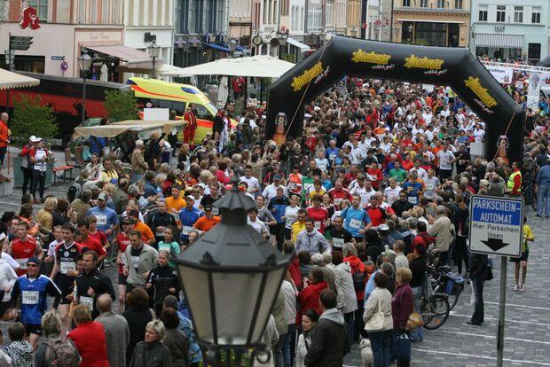 Skatstadtmarathon Altenburg Start