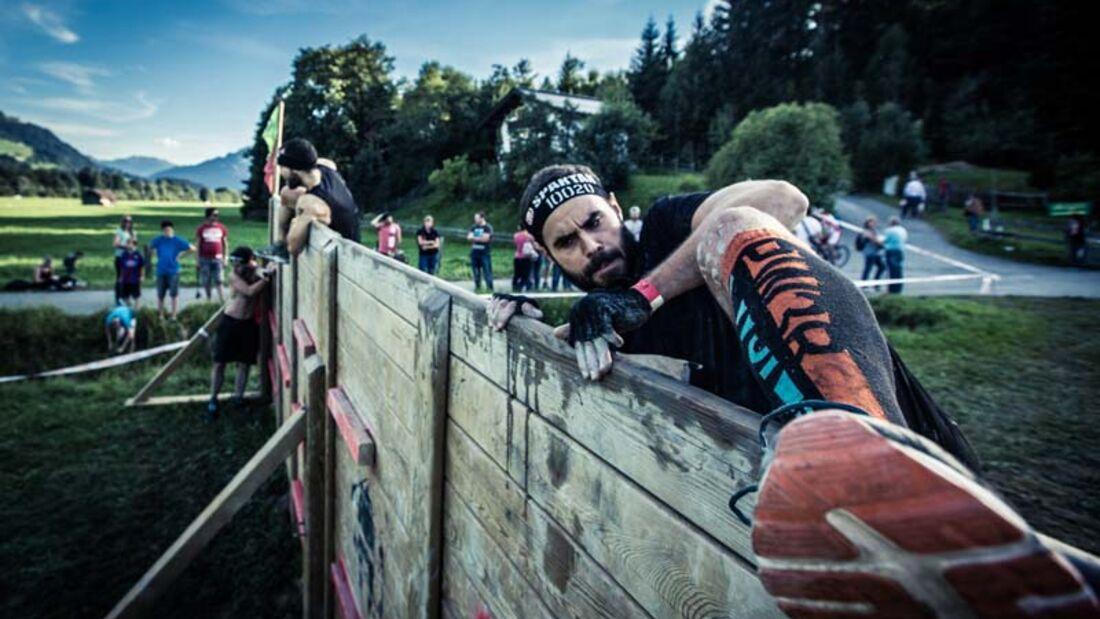 Spartan Race Kitzbüheler Alpen 2015 Wand