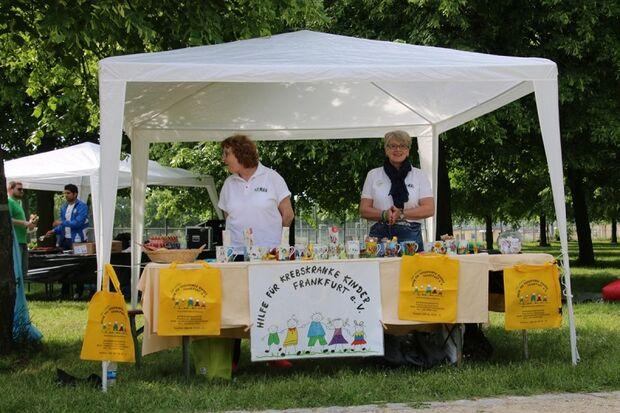 Spenden sammeln für den guten Zweck beim Charity Walk & Run Frankfurt