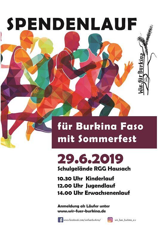 Spendenlauf für Burkina Faso 2019