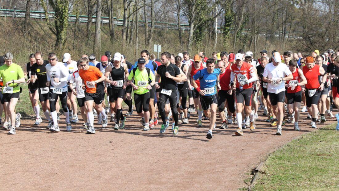 Springe-Deister-Marathon Start