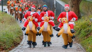 St. Pauli X-Mass-Run 2019
