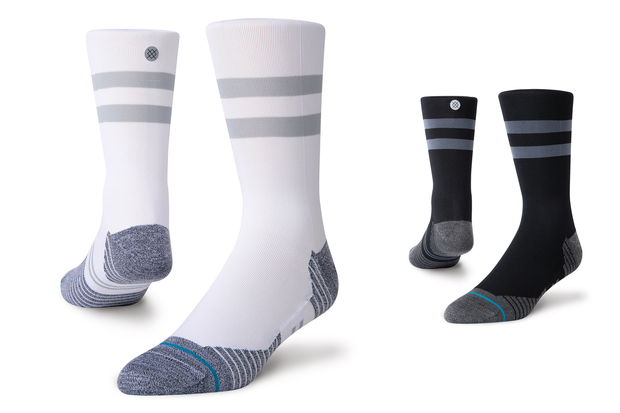 Stance Run Light Crew Laufsocken