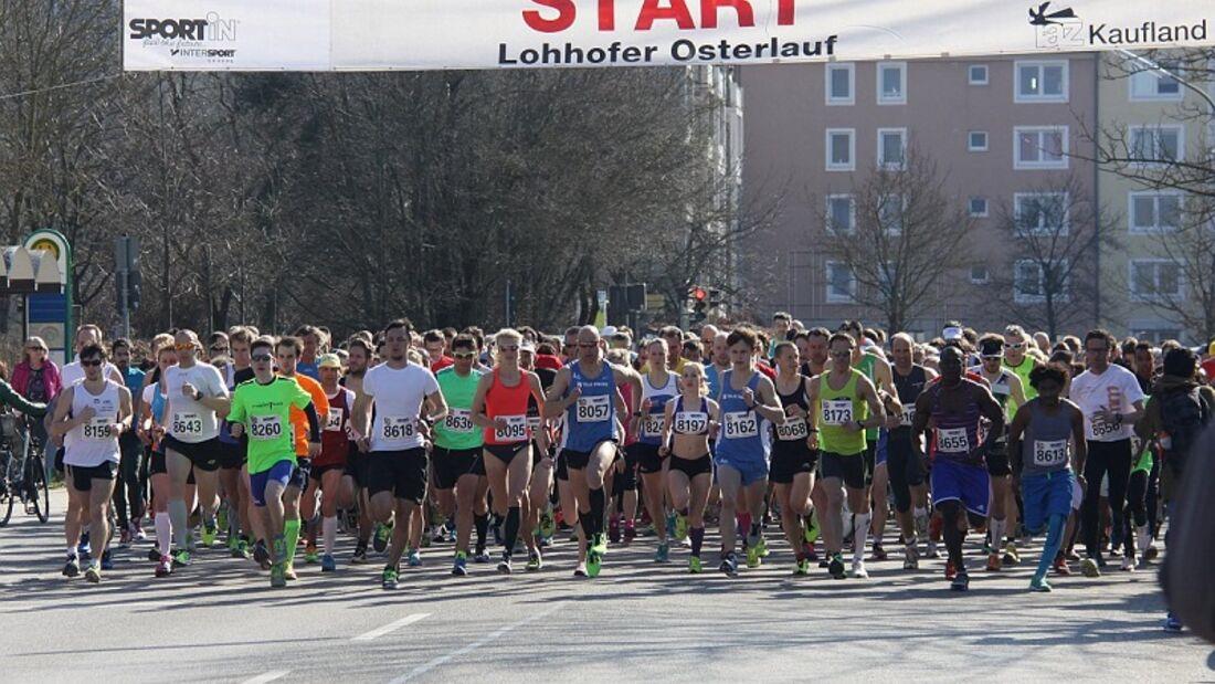 Start Lohhofer Osterlauf Unterschleißheim