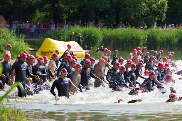 Start Triathlon Ingolstadt 2015